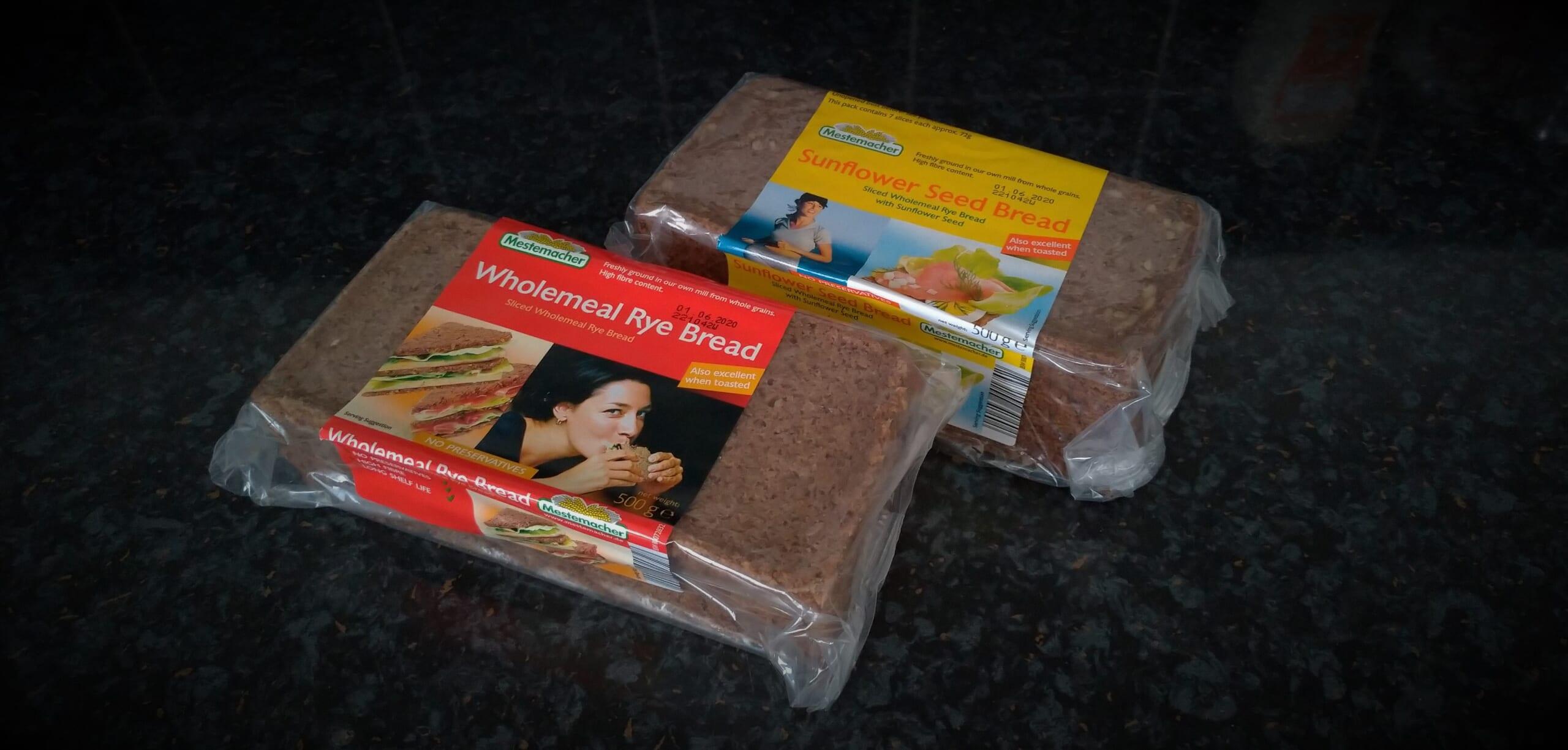 近所のALDIで見つけた、健康食の救世主 黒パン