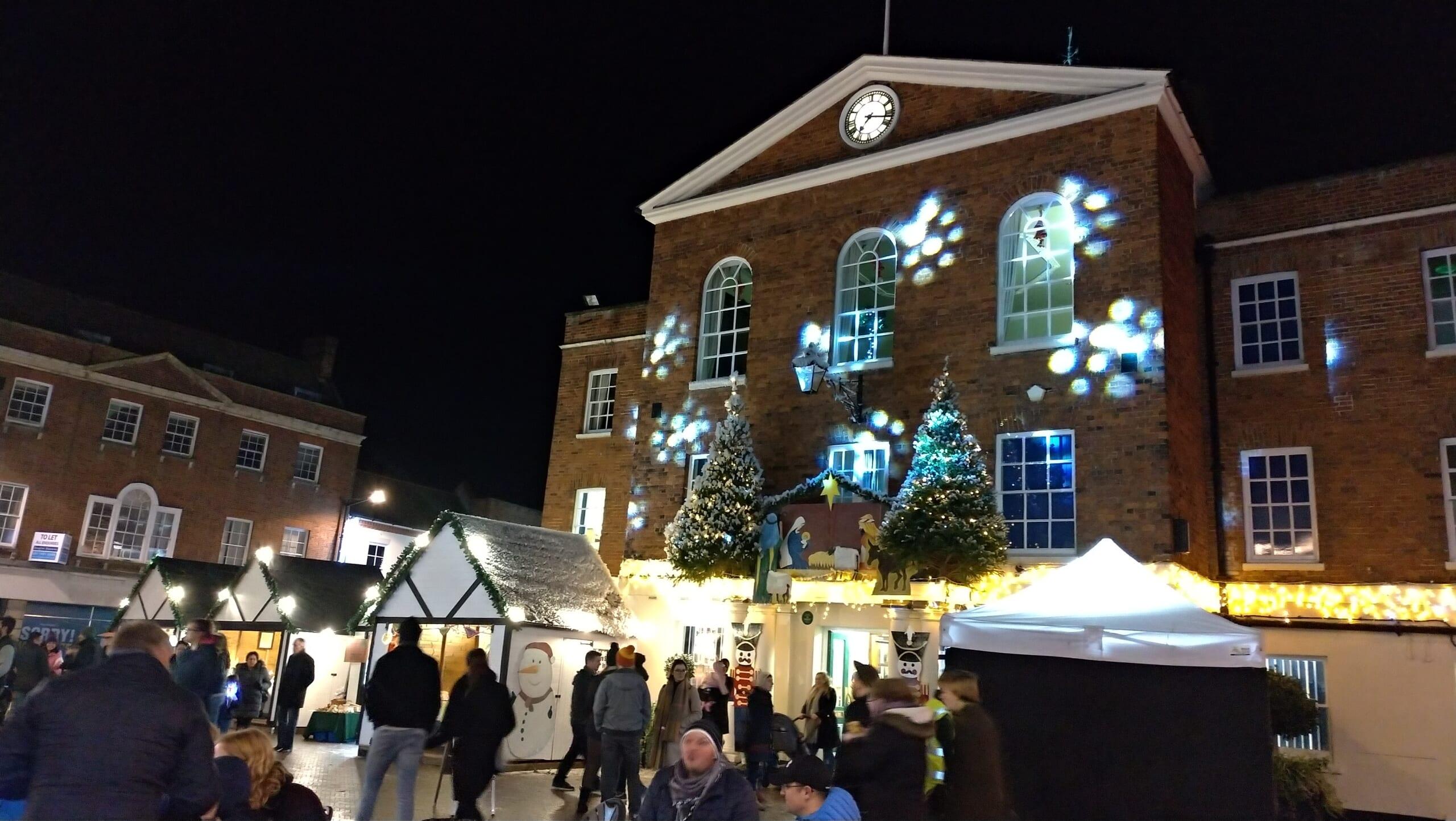 イギリスにて、初めてのクリスマスマーケット